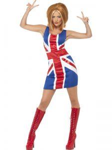 Kostým - Britská vlajka