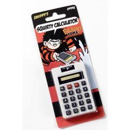 Kalkulačka stříkací (81-D, 124) Smiffys.com