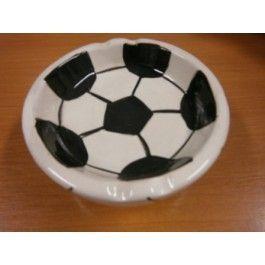 Popelník fotbalový míč  (76D, 124)