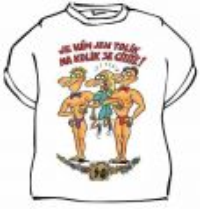 Tričko - Výročí pro ženu 40 let - XXL (18-D)
