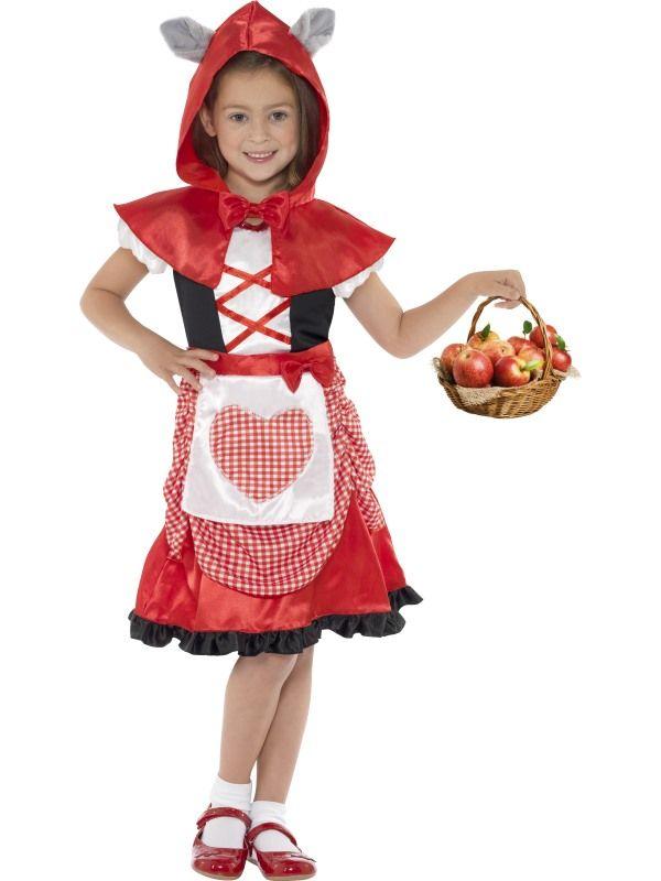 Kostým karkulka dětská - L (85-E) Smiffys.com