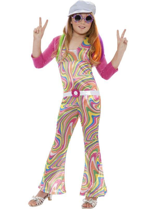 Dětský kostým - Hipís - L (85E) Smiffys.com