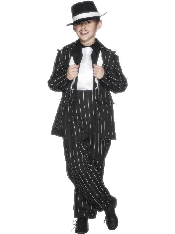 Dětský kostým - Mafián - L (86-E) Smiffys.com