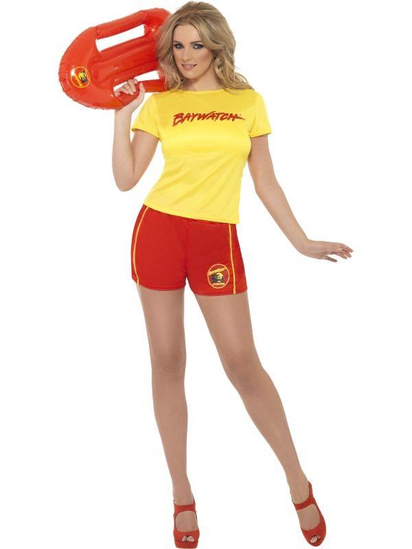 Kostým - Baywatch Lifeguard - L (97) Smiffys.com