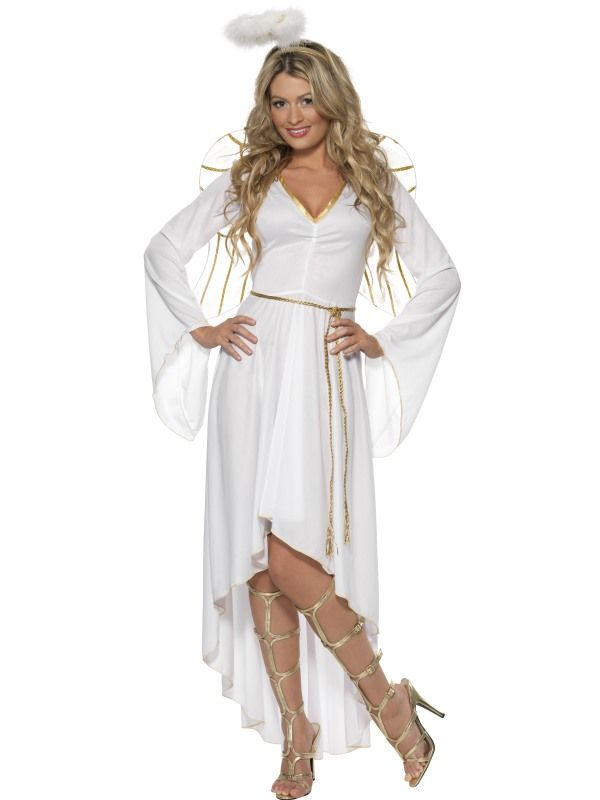 Kostým - Bílý anděl - L (96) Smiffys.com