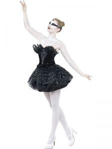 Kostým  - baletka černá labuť - L (96)