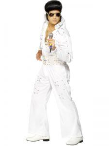 Kostým - Elvis bílý - L (106)