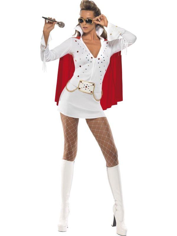 Kostým - Elvis - dámský - M (88-B) Smiffys.com