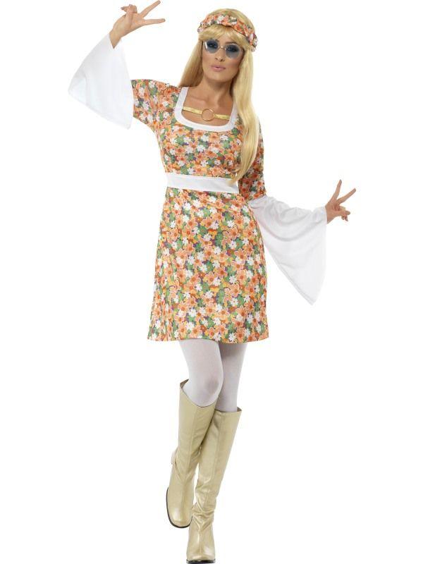 Kostým - Hipísačka - L (95) Smiffys.com