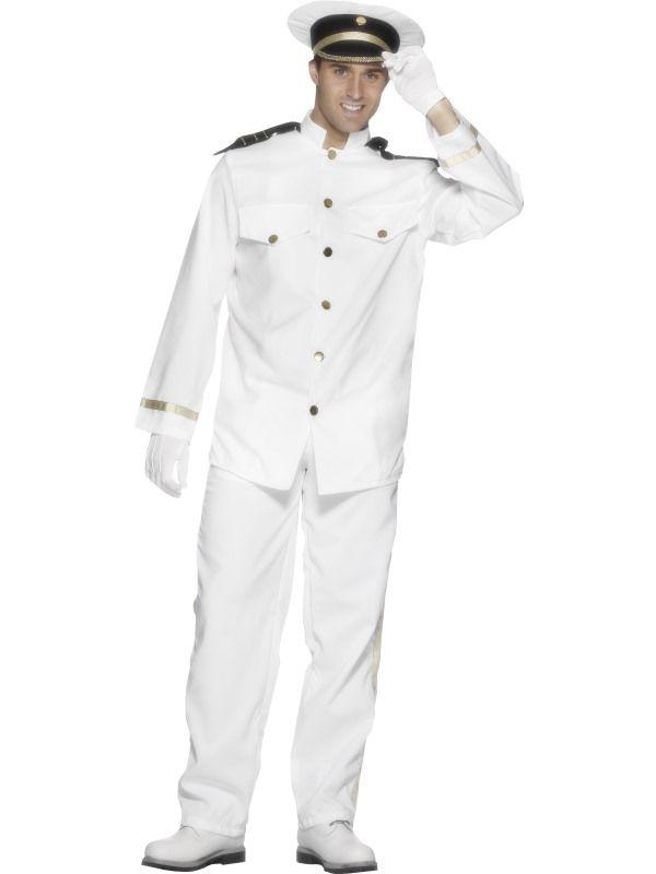 Kostým - Kapitán - M (99) Smiffys.com