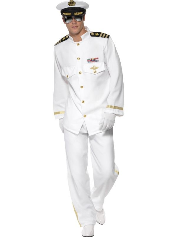 Kostým - Kapitán - deluxe - L (106) Smiffys.com