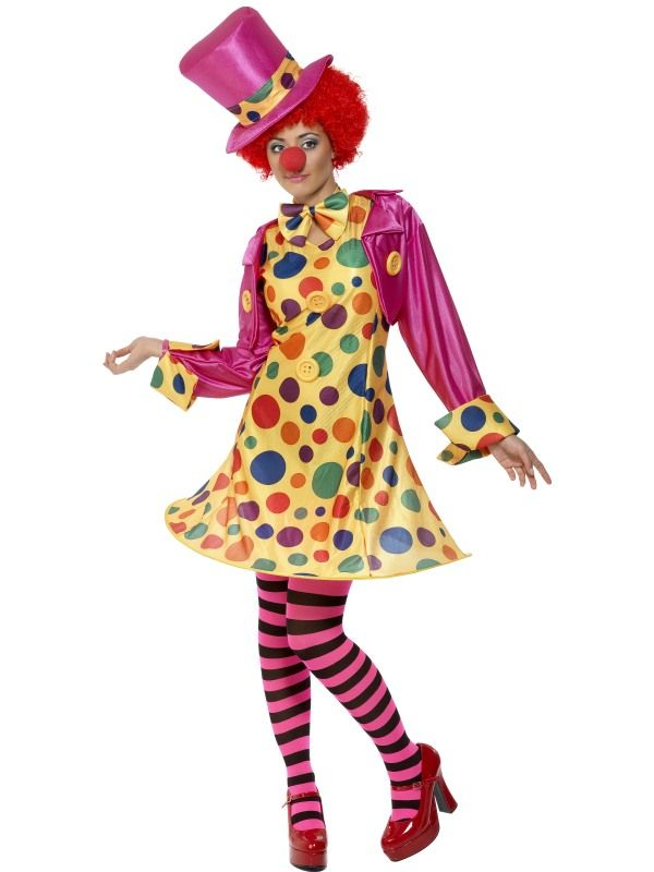 Kostým - Lady Klaun - X1 (98) Smiffys.com