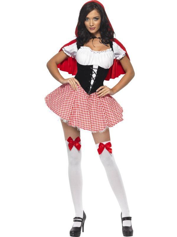 Kostým - Sexy Červená Karkulka - L Smiffys.com