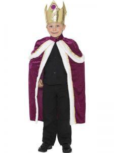 Dětský kostým - Král - L (86-E)