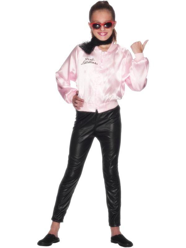 Dětský kostým - Lady Pomáda - L Smiffys.com
