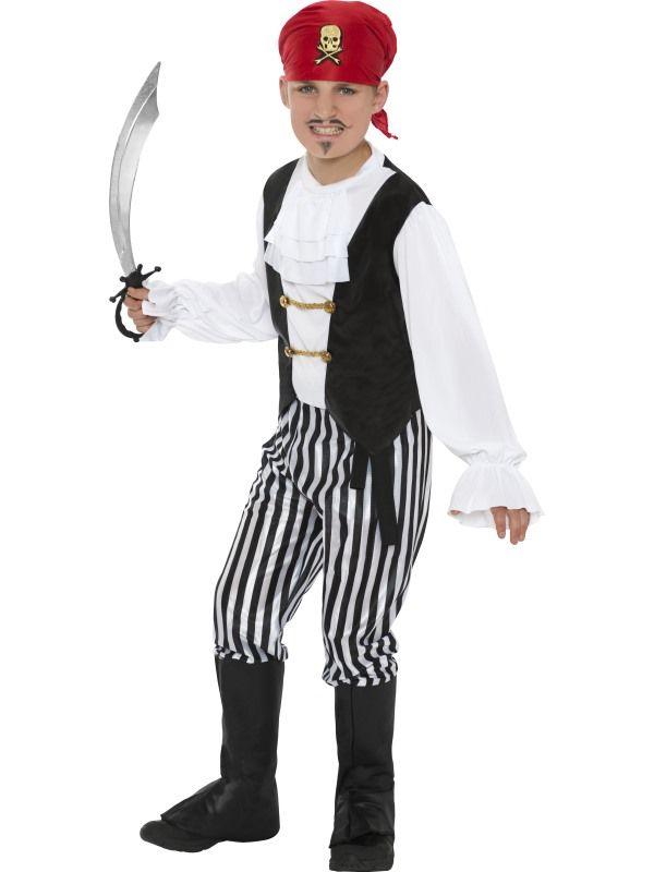 Dětský kostým - Pirát - deluxe - L (86-E) Smiffys.com
