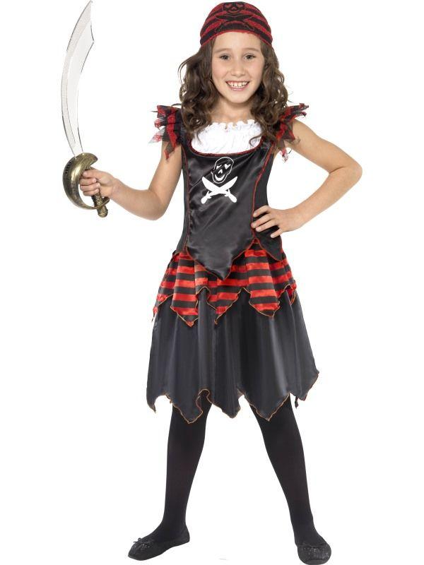 Dětský kostým - pirátka - L (85-E) Smiffys.com