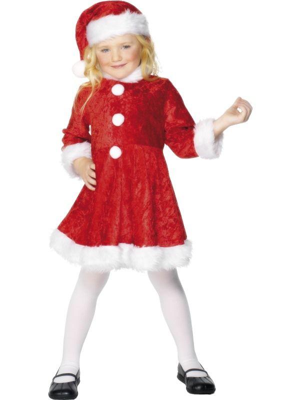 Dětský kostým - Santová - M (85-C) Smiffys.com