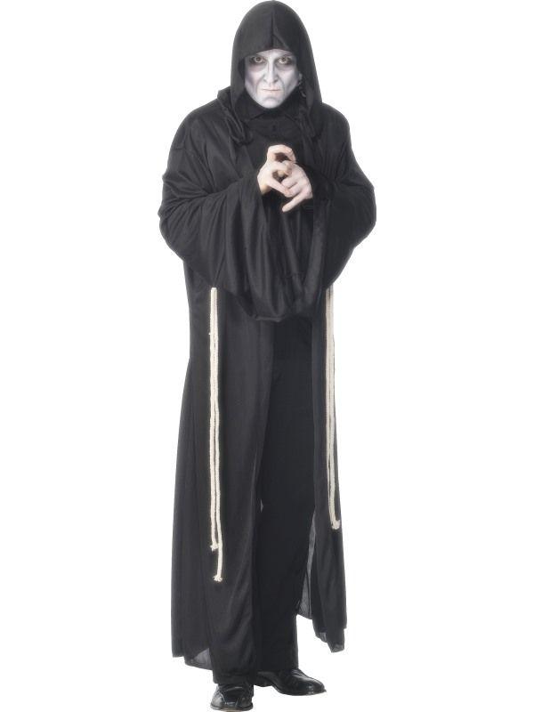 Kostým mnich černý - L (104) Smiffys.com