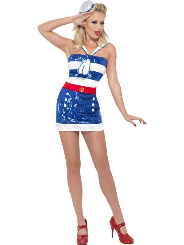 Kostým - Námořnice - M (88-D) Smiffys.com