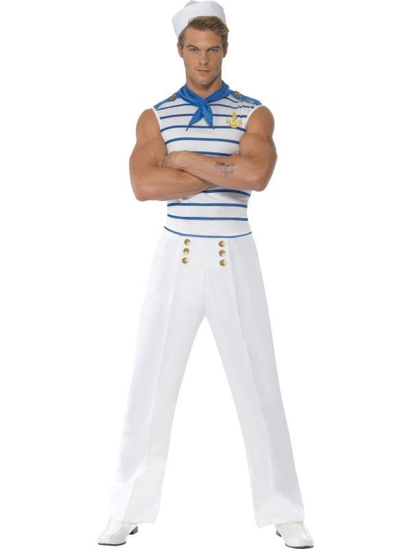 Kostým - Námořník - L Smiffys.com
