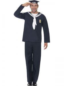 Kostým - Námořník modrý - L (105)