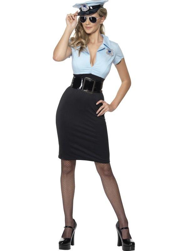 Kostým - Sexy policistka - L (97) Smiffys.com