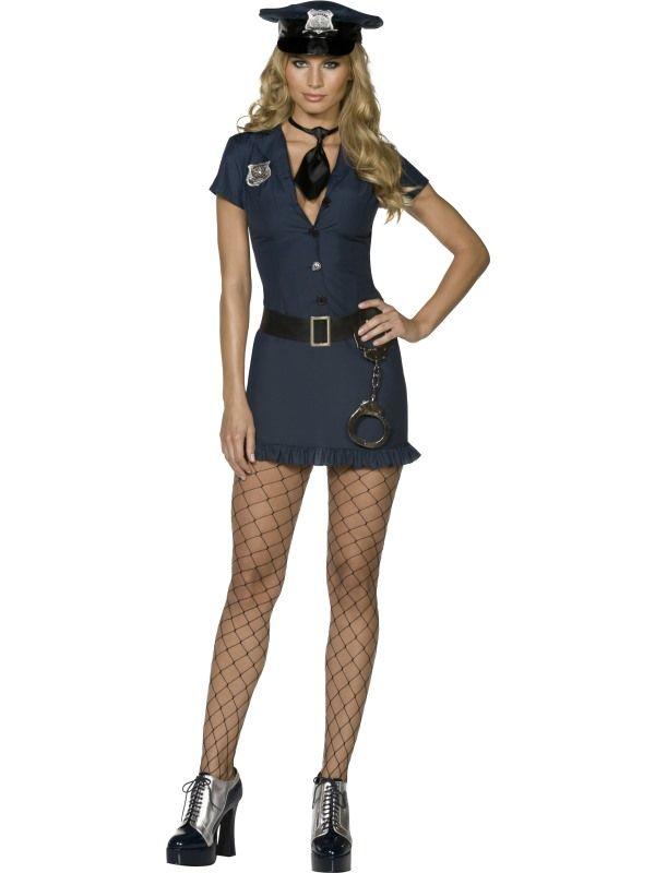 Kostým - Sexy policistka - M (88-C) Smiffys.com