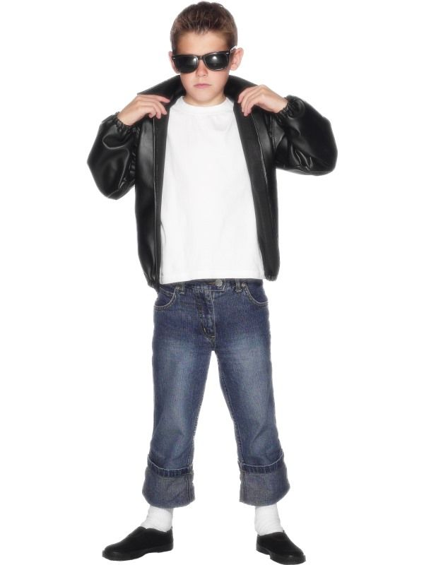 Dětský kostým - Pomáda - L (86-E) Smiffys.com