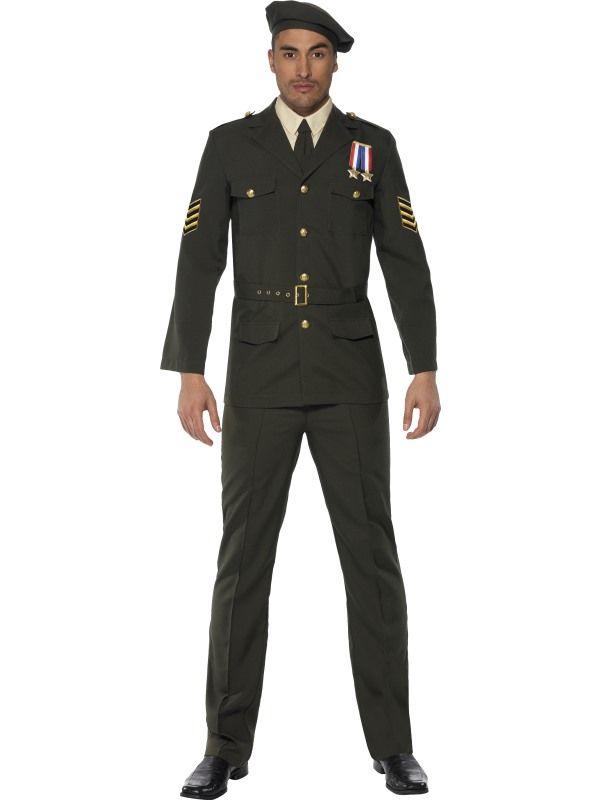 Kostým - Důstojník - L (106) Smiffys.com