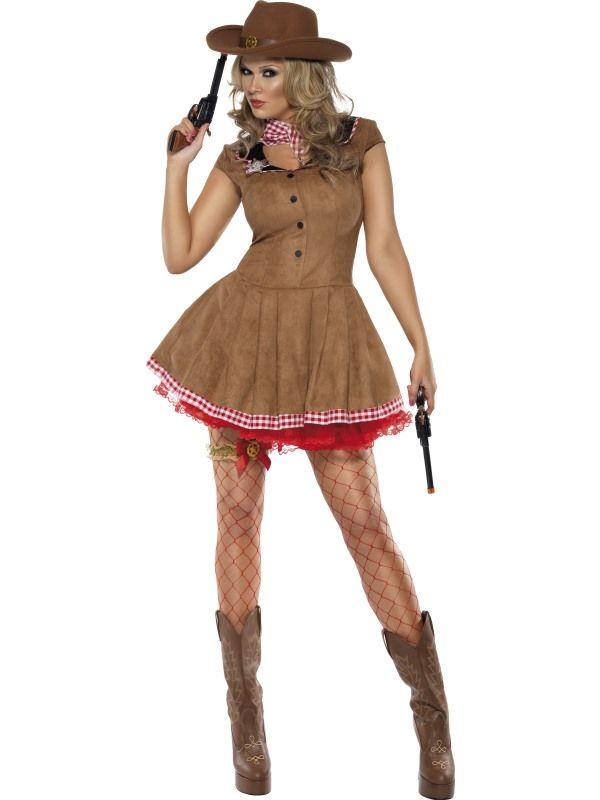 Kostým - Sexy kovbojka - L (97) Smiffys.com
