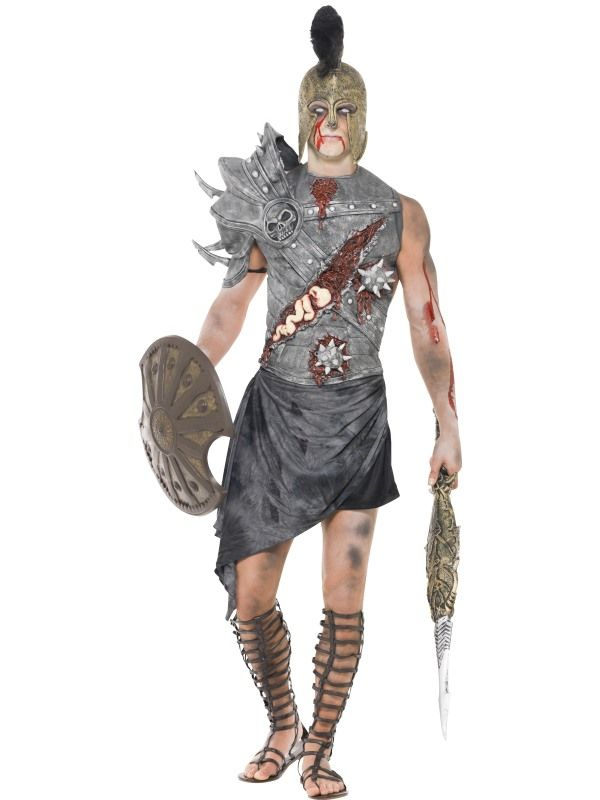 Kostým - Zombie - gladiátor - L (104) Smiffys.com