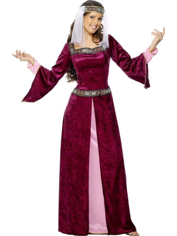 Kostým - Služebná Marion - S (87-B) Smiffys.com