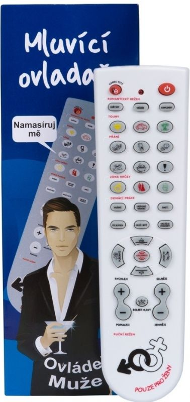 Ovladač na muže mluvící - Ovládej muže! (74-D) Gadgets