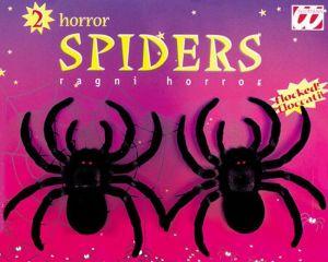 Pavouci  -  černý 2ks, 10cm  (92)
