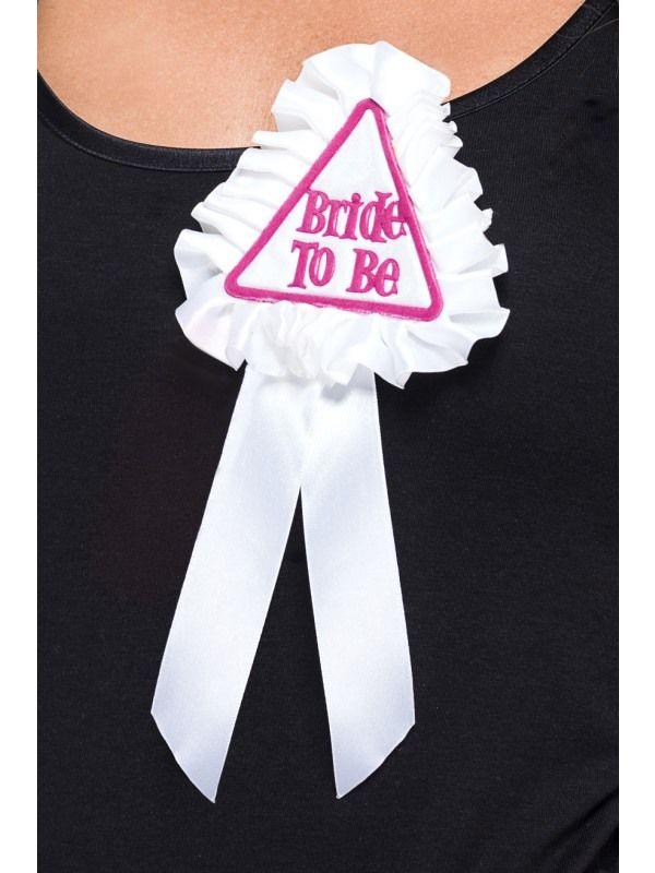 Šerpa - Bride To Be bílá (21-G) Smiffys.com