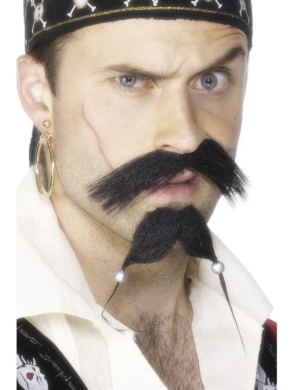 Knírek pirátský Smiffys.com