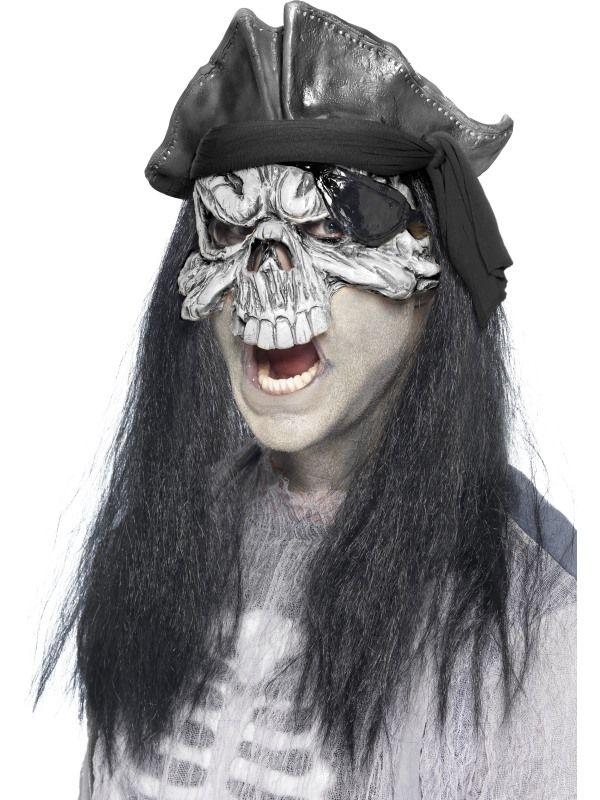 Maska Pirát s vlasy (89) Smiffys.com