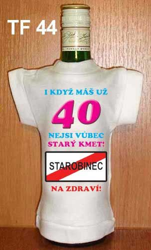 Tričko na flašku i když máš už 40 Divja.cz