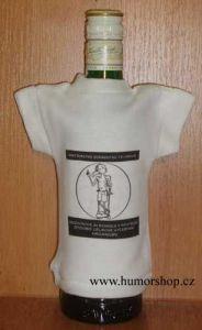 Tričko na flašku ministerstvo zdravotnictví...