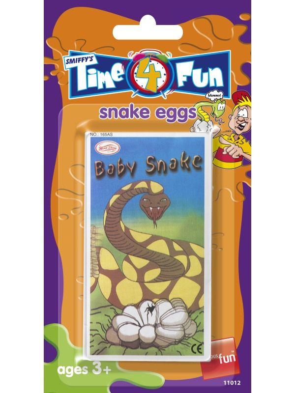 Vajíčko hadí - lekací obálka Smiffys.com