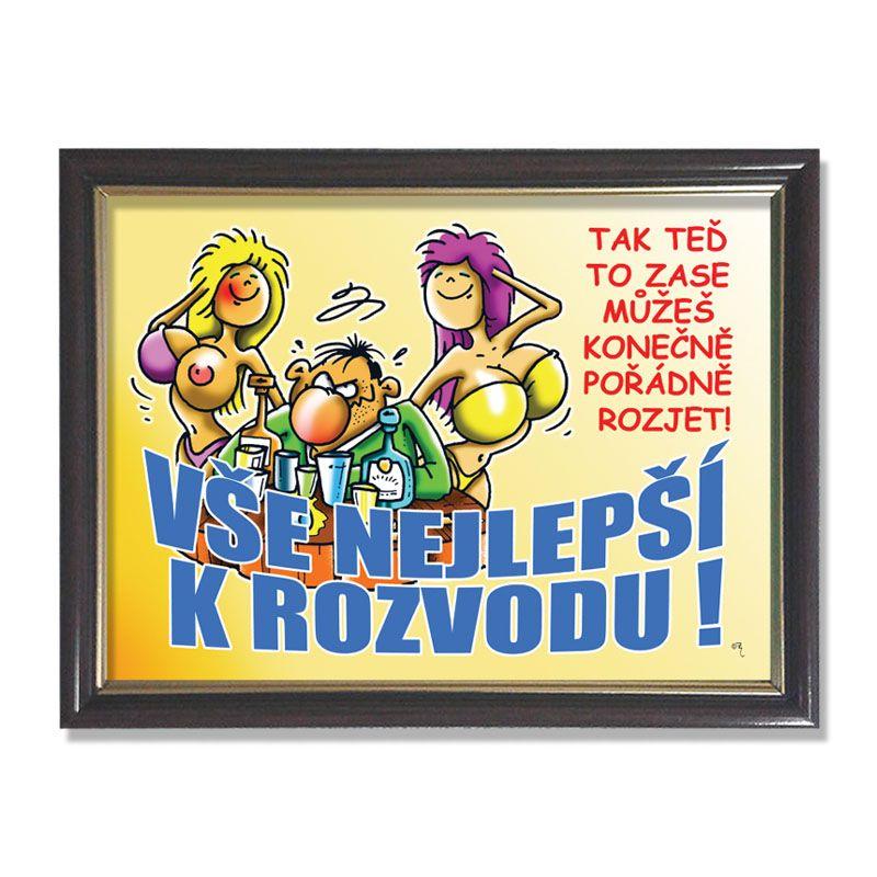 Rámeček - k rozvodu.... Divja.cz