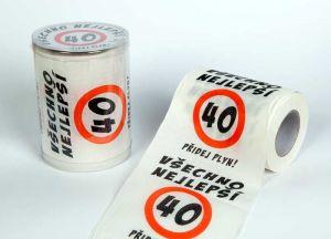 Toaletní papír 40