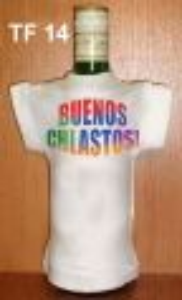 Tričko na flašku buenos chlastos - (18-H)