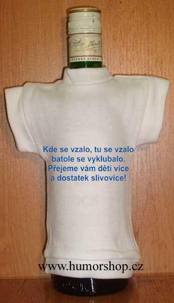 Tričko na flašku kde se vzalo ... Divja.cz