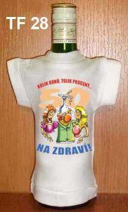 Tričko na flašku kolik roků 50