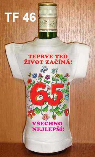 Tričko na flašku teprve teď život začíná Divja.cz