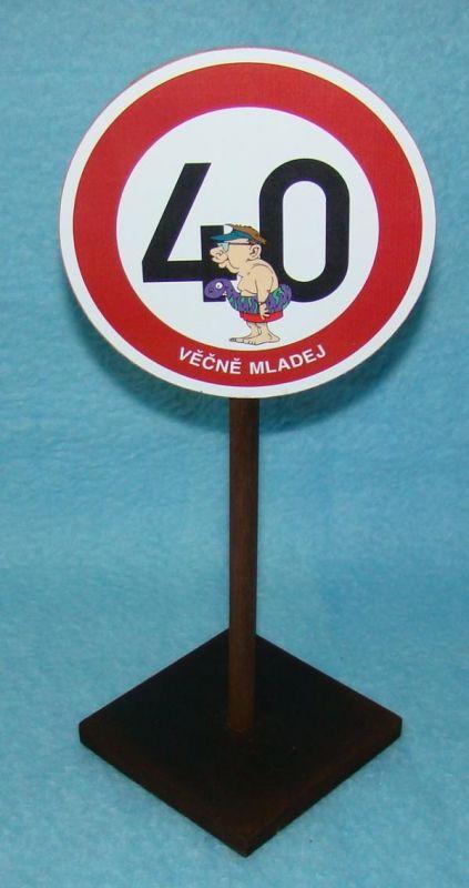 Značka 40 pro muže (70-I) joke21
