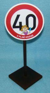 Značka 40 pro ženu (70-I)