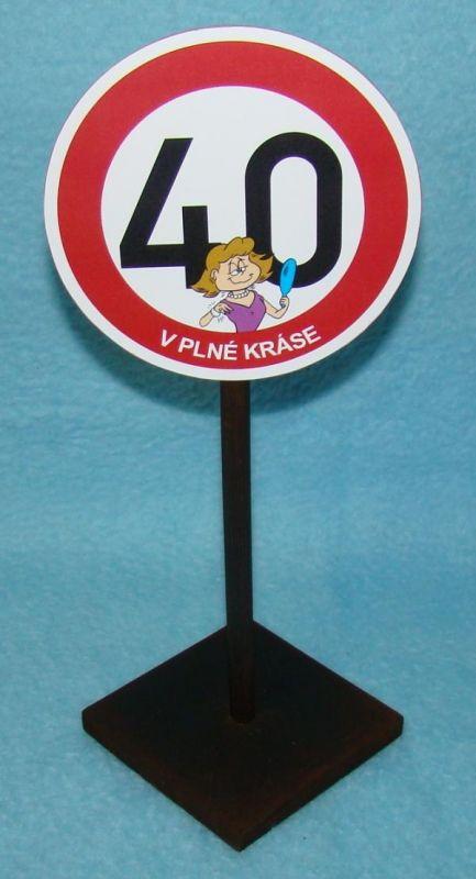 Značka 40 pro ženu (70-I) joke21